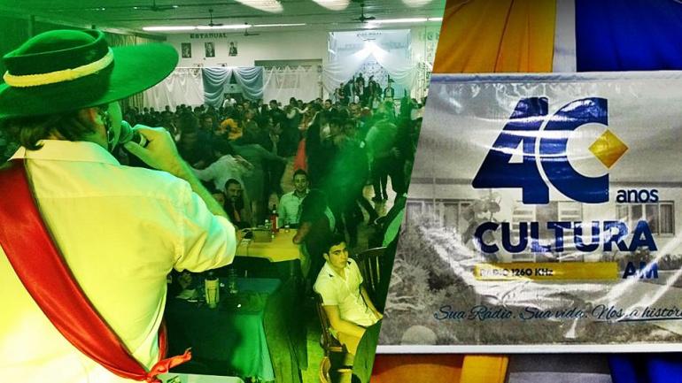 Jantar Baile com Grupo �Os Mateadores� marcam os 40 anos da R�dio Cultura AM