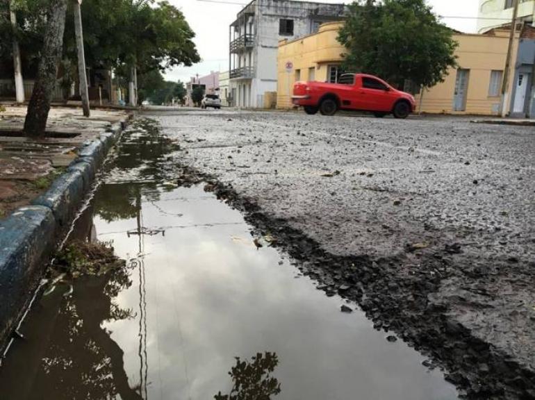 Primeiros meses do ano registram déficit de chuvas em São Borja