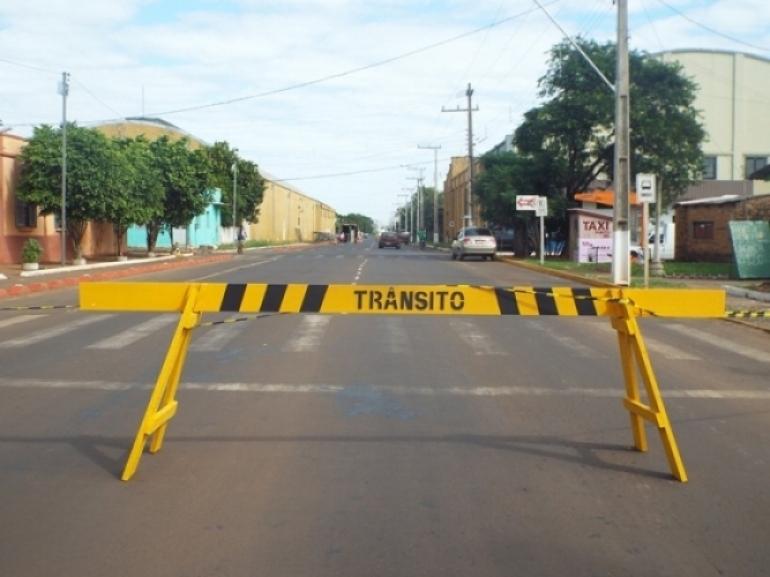 Alterações deverão ser realizadas no trânsito de São Borja