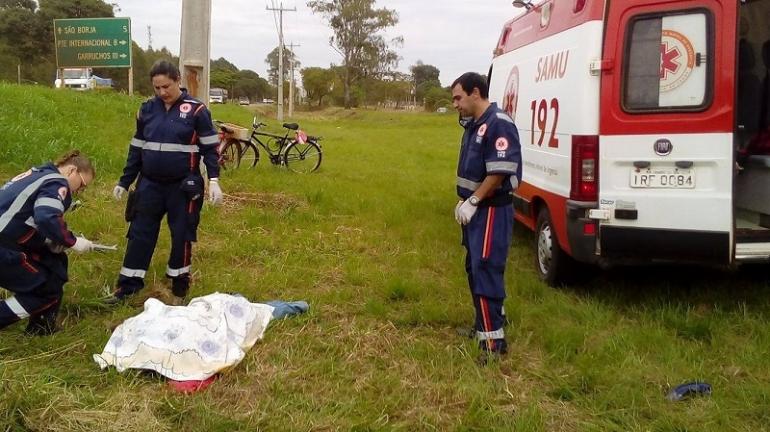 Motociclista morre em acidente na terça-feira em São Borja