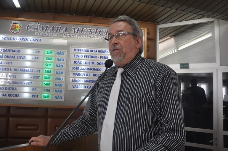Presidente da Câmara cria projeto relacionado à segurança dos São-borjenses