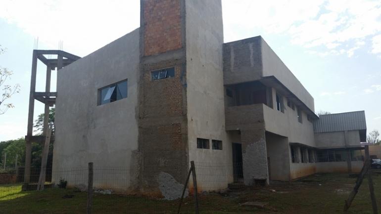 R$ 500 mil são necessários para conclusão do quartel dos bombeiros em São Borja