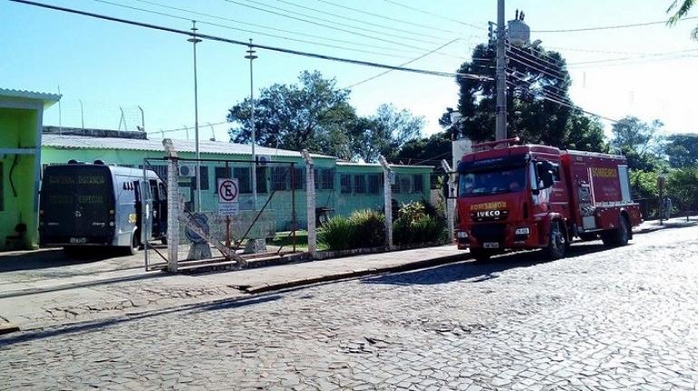 Revista geral é realizada no Presídio de São Borja