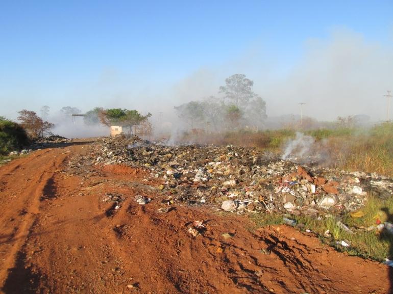 Lixão de São Borja continua sendo um problema para a administração municipal