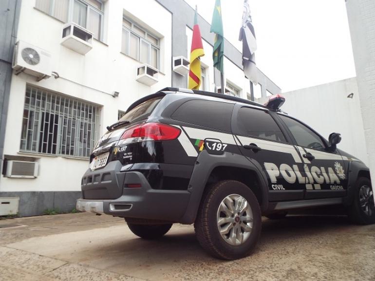 Polícia Civil investiga homicídio que aconteceu na madrugada de hoje em São Borja