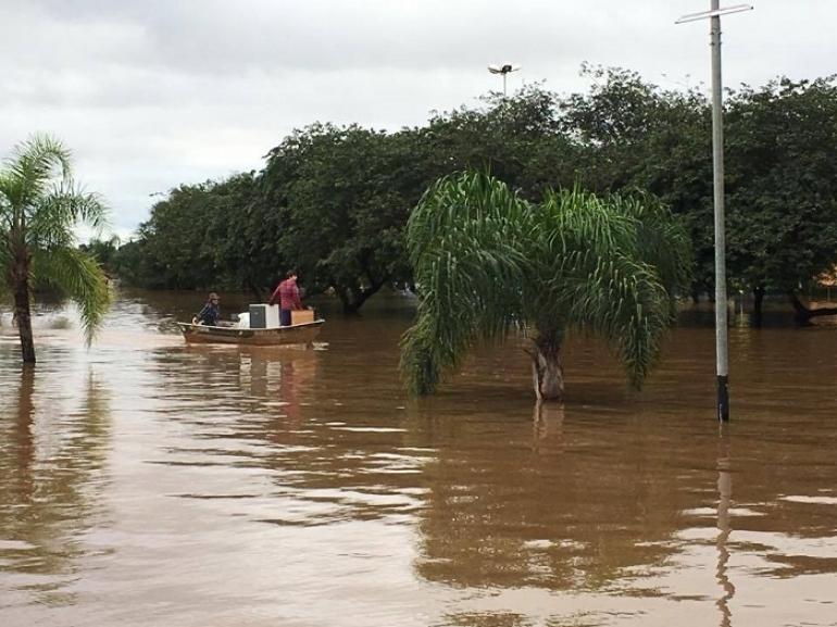 Prefeitos dos municípios atingidos pela enchente estarão em São Borja nessa semana