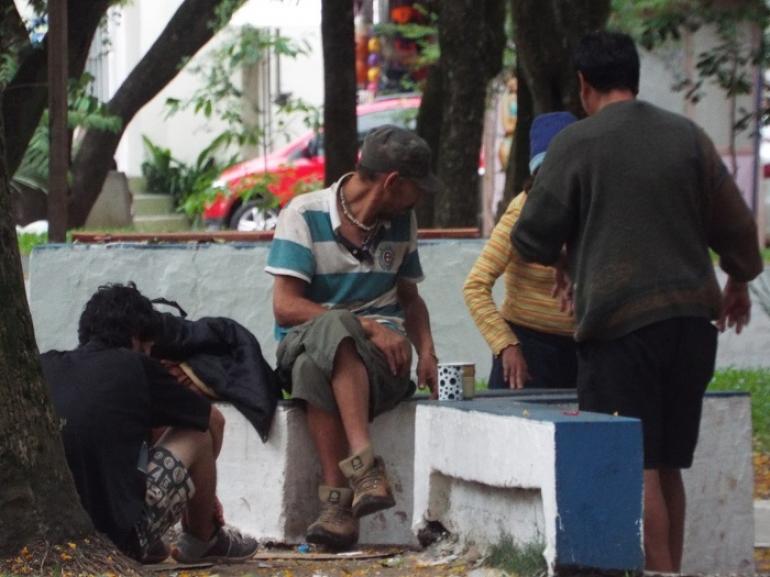 Moradores de rua possuem alternativas para se abrigar do frio em São Borja