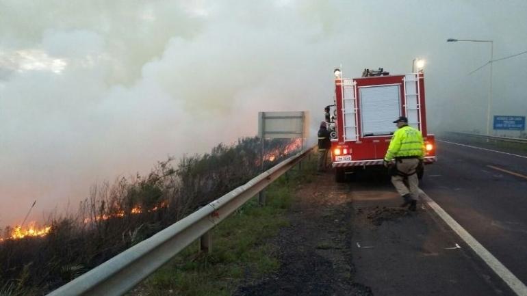 Bombeiros continuam enfrentando problemas de incêndios em vegetações e lixos