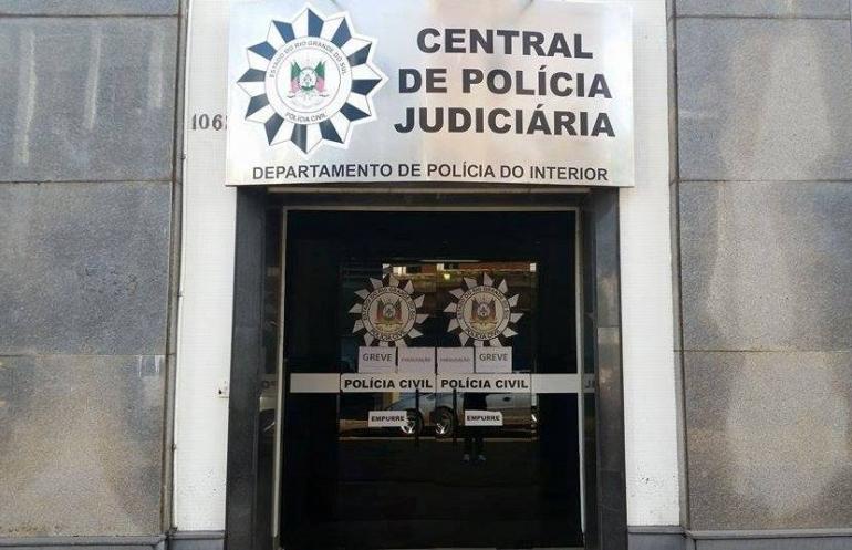 Servidores da Polícia Civil de São Borja estão em greve