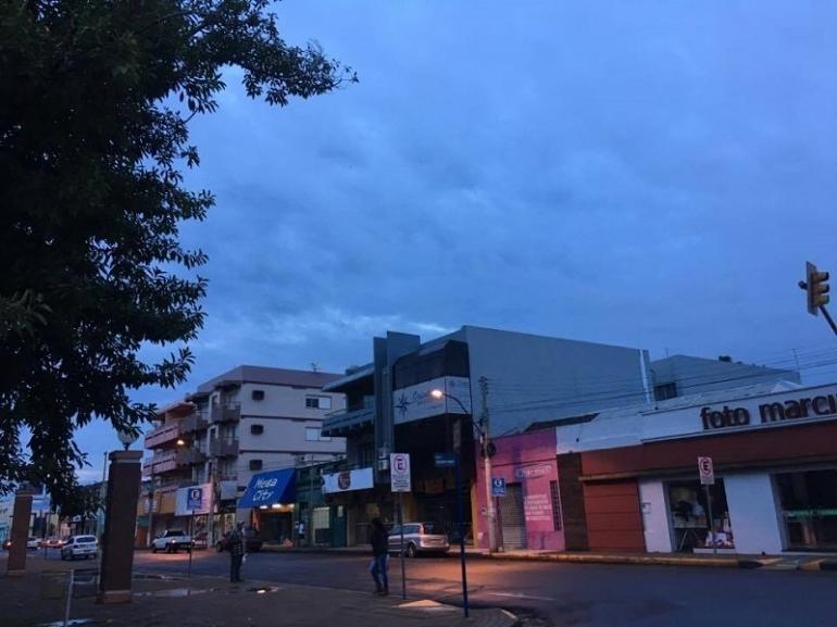 Clima continua instável em São Borja