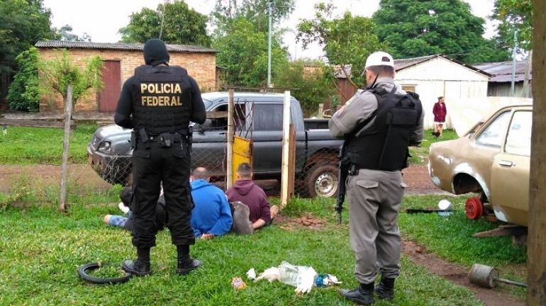Polícia Federal e Brigada Militar realizam operação conjunta em São Borja