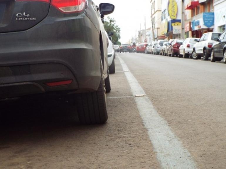 Estacionamento rotativo provisório não está descartado