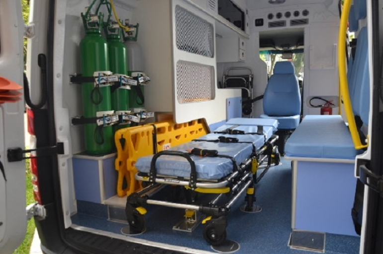 Nova ambulância do SAMU ainda não está sendo utilizada
