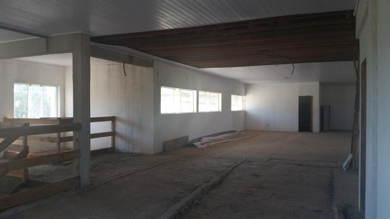 Obra do quartel dos Bombeiros ser� finalizada em 2018