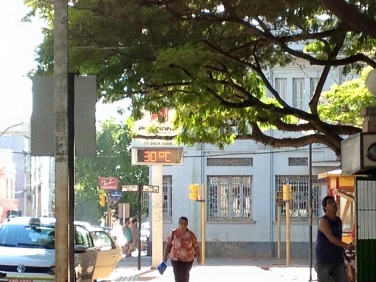 Temperatura se eleva ao longo desta terça-feira em São Borja