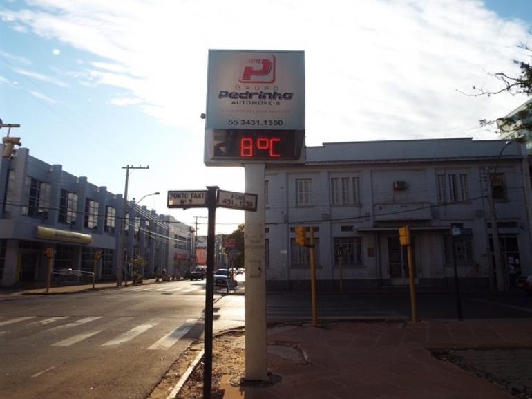 Frente fria diminui a temperatura em São Borja nos próximos dias