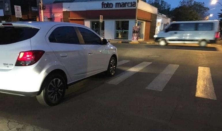 Infrações relacionadas à faixa de segurança ainda são uma grande preocupação em São Borja