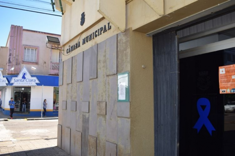 C�mara Municipal de Vereadores inicia recesso nessa semana
