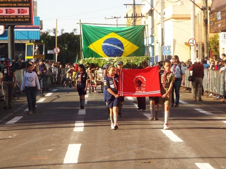 Inscrições para participar dos desfiles da Semana da Pátria encerram nessa semana