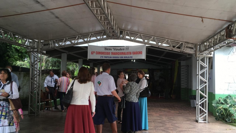 CTG Tropilha Crioula sedia Congresso Tradicionalista