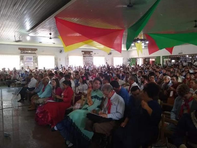 Congresso do MTG traz grande público para o município
