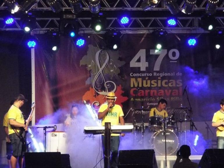 Já foi definido ordem de apresentação para o Concurso de Músicas Apparício Silva Rillo