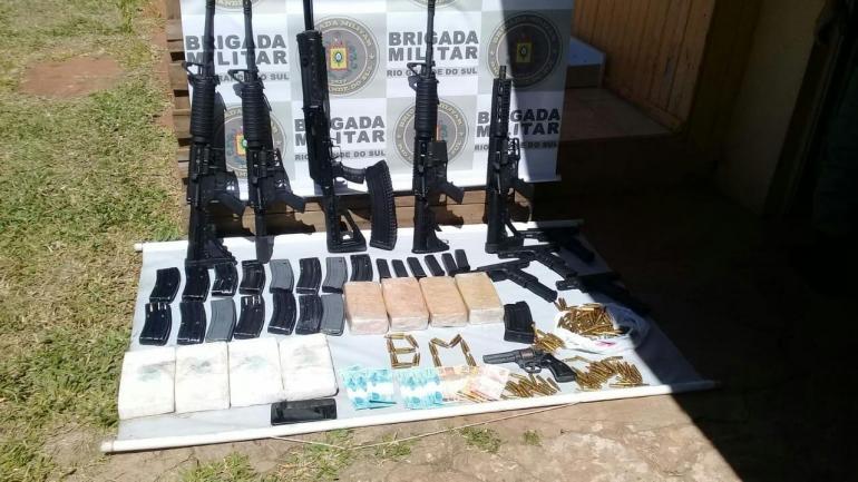 Armamento pesado é apreendido em São Borja