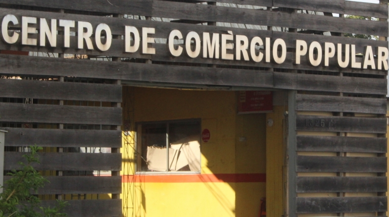 Começam as reformas do Centro de Comércio Popular