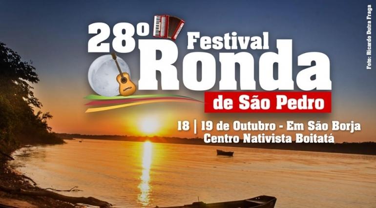 Confira as músicas escolhidas para o Festival Ronda de São Pedro