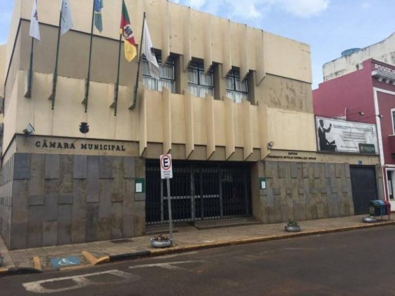 Câmara de Vereadores suspende as reuniões ordinárias por tempo indeterminado