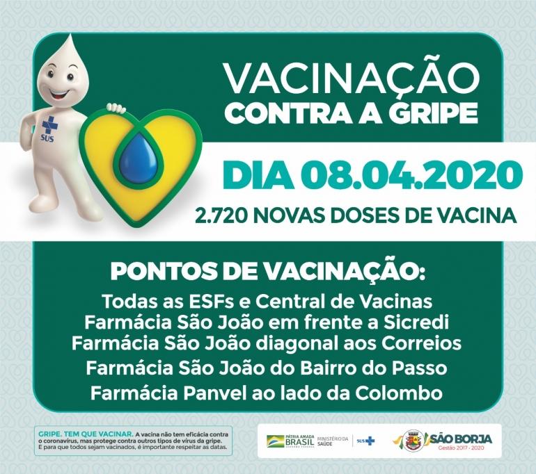 Vacinação contra H1N1 será retomada nesta quarta-feira