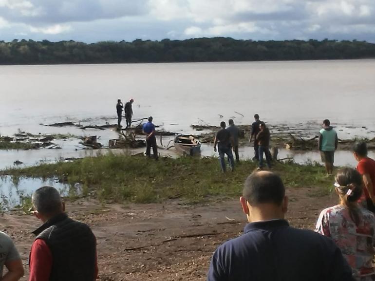 Corpo de uma mulher é encontrado nas águas do Rio Uruguai em São Borja