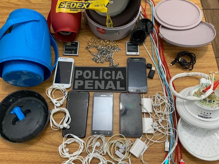 Apenado de São Borja recebe por sedex material não permitido no Presídio