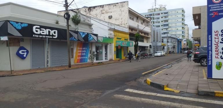 Confira o que pode e o que não pode funcionar em São Borja com a bandeira vermelha