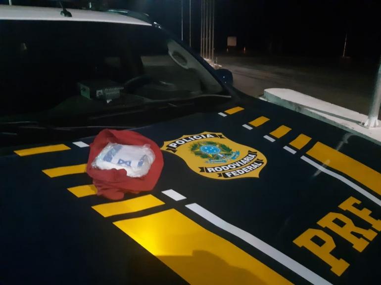 PRF prende traficante com cocaína em São Borja