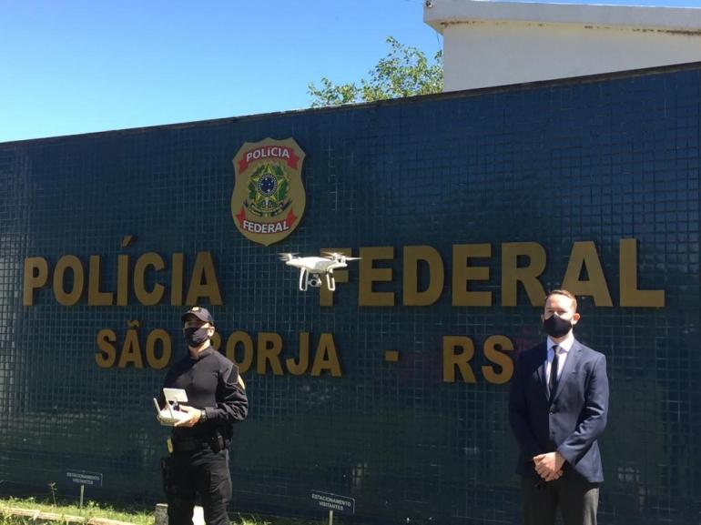 Polícia Federal em São Borja contará com drone para auxiliar nas eleições 2020