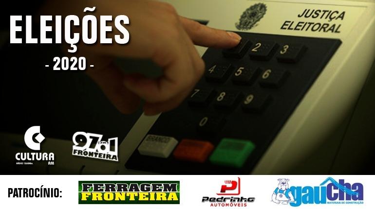 Debate com os candidatos a prefeito de São Borja ocorre nesta terça-feira, dia 10