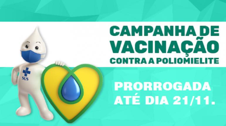 Secretaria de Saúde promove novo Dia D contra a poliomielite neste sábado