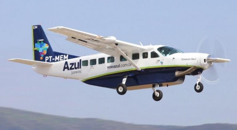 Azul retoma voos comerciais para mais três cidades gaúchas