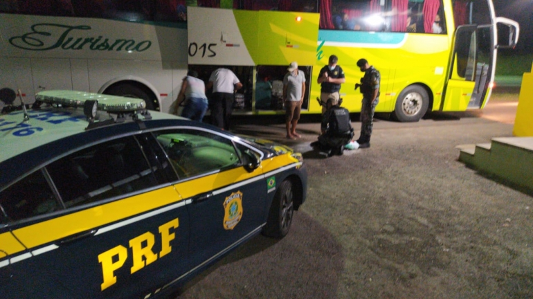 São-borjense foragido é preso em ônibus com destino à Caxias