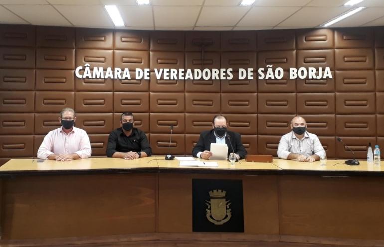 Em sess�o extraordin�ria, C�mara de Vereadores elege nova mesa diretora nesta sexta-feira, 22
