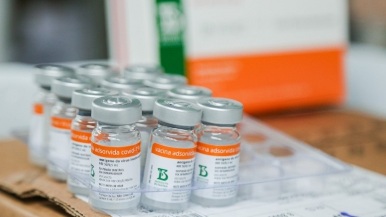 Vacina��o contra a COVID a partir de 63 anos ocorre a partir deste s�bado, dia 10