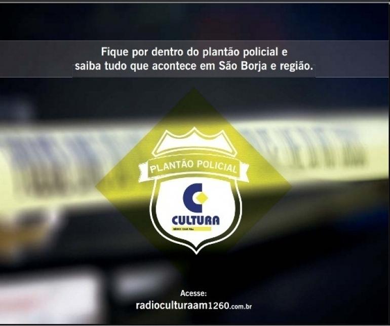 Brigada Militar encontra veículo e produtos roubados no interior de São Borja