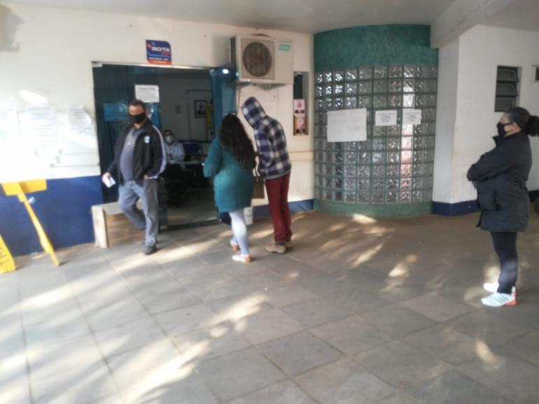 Continua a vacinação nos profissionais da educação em São Borja