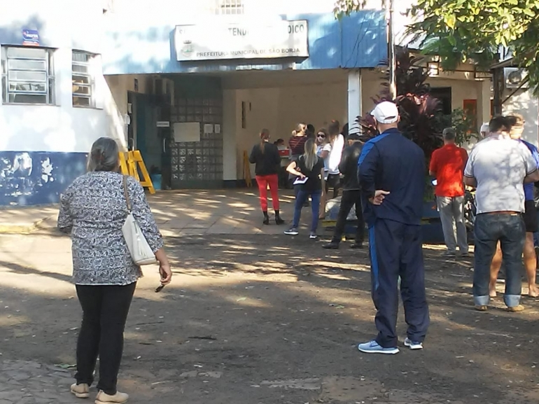 São Borja começa a vacinar pessoas com 58 e 59 anos sem comorbidades
