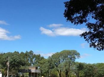 Sol deverá predominar nesta segunda-feira em São Borja