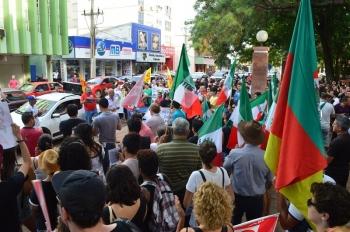 Novo ato público contra as reformas trabalhista e da previdência será feito na sexta-feira