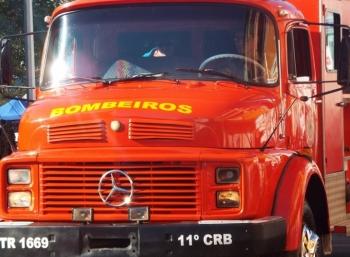 São Borja está sem o serviços de emergência dos bombeiros nesta sexta-feira