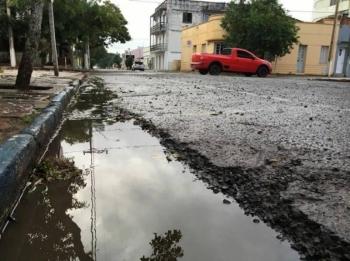 Semana começa com chuva em São Borja