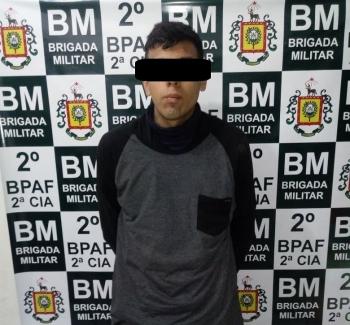 Bandido que realizou assalto em Posto de Combustível da cidade foi preso